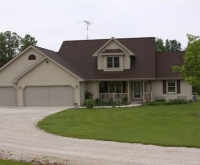 New Custom Home, Sheboygan Falls